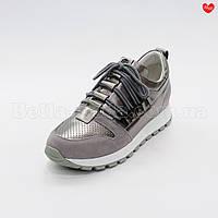 Женские кроссовки скобки под шнуровку, фото 1