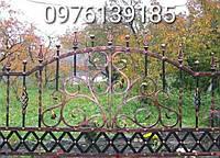 Кованый забор недорого (195)