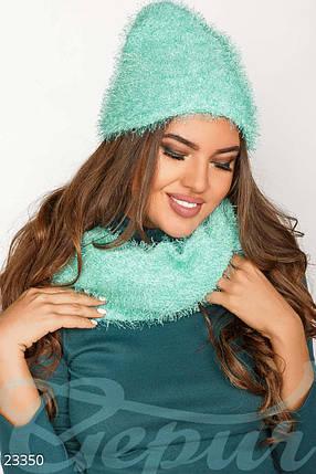 "Комплект ""шарф+шапка"", фото 2"