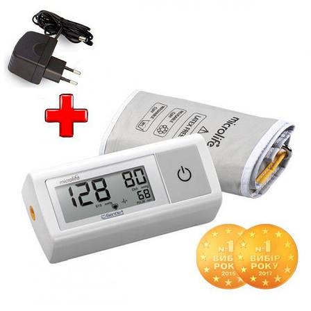 Автоматический тонометр Microlife BP A1 Easy с адаптером, фото 2