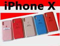 Накладка оригинальная Apple Silicone Case для iPhone X