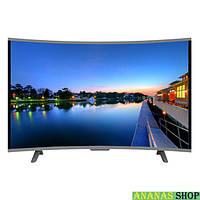 "LCD LED Изогнутый телевизор JPE 32"" HD экран T2, USB, HDMI, VGA Гарантия 1 год!"