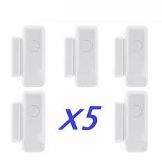 Бездротовий датчик вікна, двері для WiFi, GSM сигналізації 433 Mhz (геркон) в лоті 5 шт.