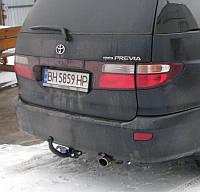 Фаркоп на Toyota Previa (2000-2006) Тойота Превиа
