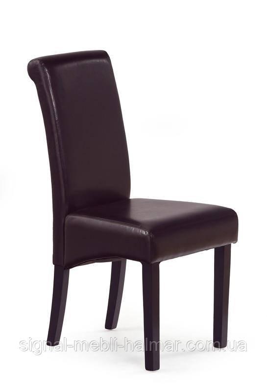 Стул NERO (темно-коричневый) (Halmar)