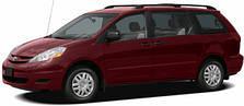 Фаркопы на Toyota Sienna (2003-2010)