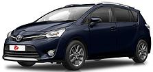 Фаркопы на Toyota Verso (c 2009--)