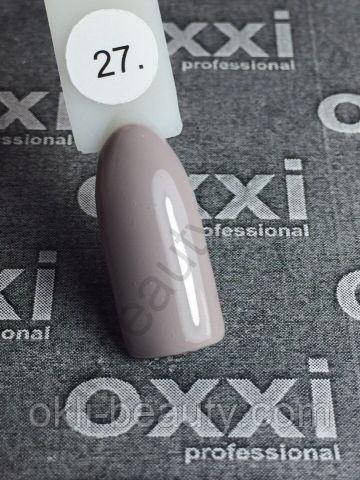Гель-лак Oxxi №027 цветной, 8 мл