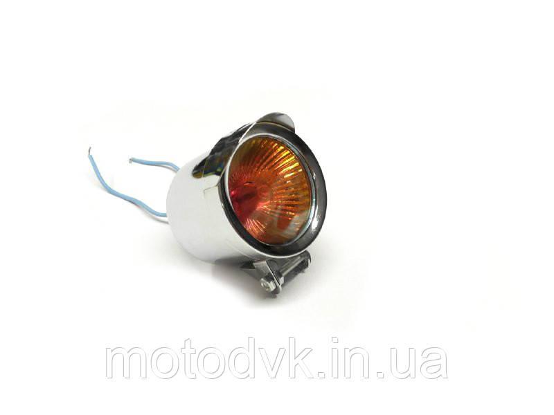 Дополнительная фара на мотоцикл XS-910, стекло хамелеон