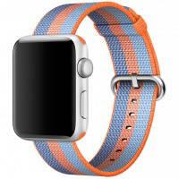 Ремешок Apple 42mm Orange Woven Nylon (MPW22) для Apple Watch Series 1/2/3