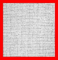 Ткань для вышивания рушниковое полотно, ширина 0,37 м, цвет белый