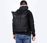 Рюкзак наплічник Harvest MESH 1 black чорний MONO.