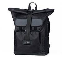 Рюкзак наплічник Harvest wide 1 black чорний MONO.