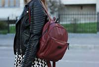 """Жіночий рюкзак Harvest Bordo Mini. Наплічник. Стильний. Для міста. РЮКЗАК HARVEST """"BORDO MINI""""."""