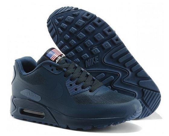 Найк Nike Air Max 90 Hyperfuse USA FLAG Кроссовки р. 40-44, цена 1 ... 744cf316c3e
