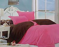 Для нее на подорок набор постельного белья Двуспальный  из сатина