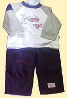 Комплект: реглан и утепленные брюки, 3 м