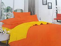 Сатиновое яркое нарядное постельное белье на двуспальную кровать на подарок