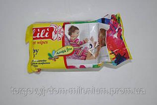 Влажные салфетки детские Lili с экстрактом календулы 100 шт. 100