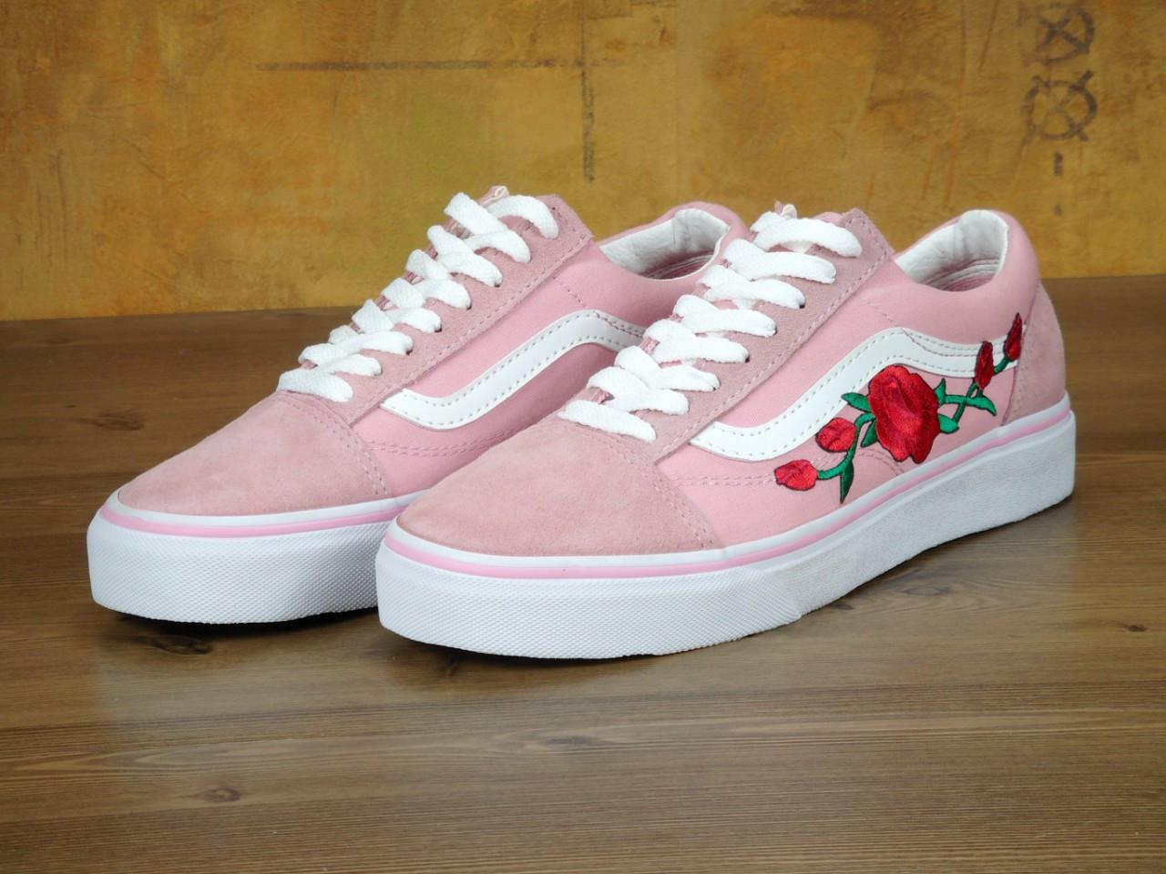 Кеды Vans Old Skool Pink Roses 36-40 рр, цена 999 грн., купить в ... fba90773c97