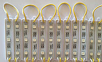 Светодиодный модуль SMD 5050 желтый цвет