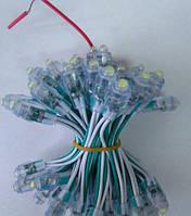 Светодиоды быстрого монтажа ЗЕЛЕНЫЙ 9мм (12 V)