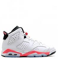 "Кроссовки Nike Air Jordan 6 Retro ""White/Infrared"" Арт. 0427"