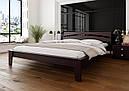 Ліжко півтораспальне з натурального дерева в спальню, дитячу 140х200 Венеція ДОК, фото 4