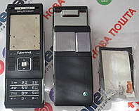 Корпус для телефона Sony Ericsson C905 в сборе (Качество ААА) (Черный) Распродажа!