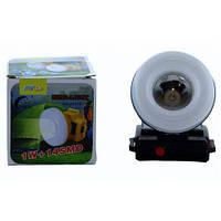 Ліхтарик налобний ліхтар з сонячною панеллю GG-2577T XPE COB, фото 1
