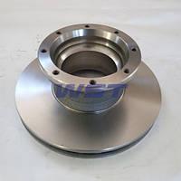Тормозной диск задний MAN L2000 81508030039 WST