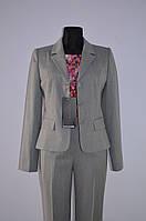 Костюм светло-серый (пиджак и брюки), только 46р., фото 1