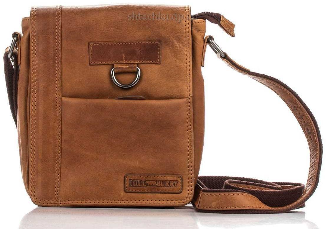 Мужская сумка коричневая 3057_brown
