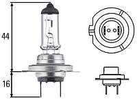 Лампа H7 24V 70W 124/H7/70 Mega