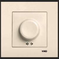 Выключатель диммер 600w VIKO Karre крем 0120