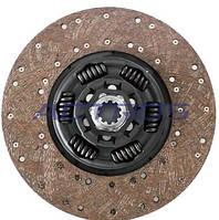 Диск сцепления MAN, МАЗ 362мм (новый тип) (не пневмо-гидравл. сцепление) 1878079331 G.K.P.