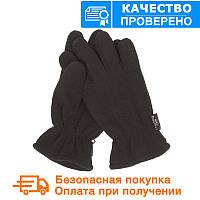 Тактические флисовые перчатки MIL-TEC THINSULATE Black (12534002)