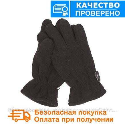 Тактические флисовые перчатки MIL-TEC THINSULATE Black (12534002), фото 2
