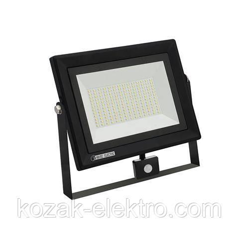 Светодиодный прожектор PARS/s-100 Вт IP65 с датчиком на движение