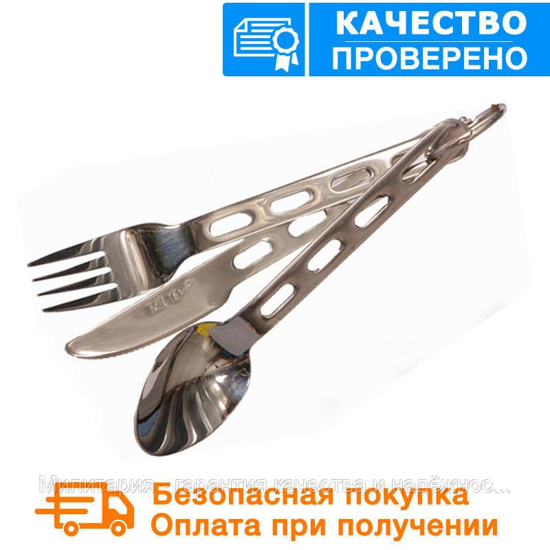 Набор: ложка, вилка, нож Mil-Tec (14623000)