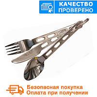 Набор: ложка, вилка, нож Mil-Tec (14623000), фото 1