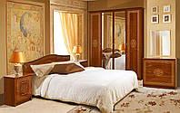 Спальня комплект з ДСП/МДФ Флоренція 4Д Каштан Світ Меблів