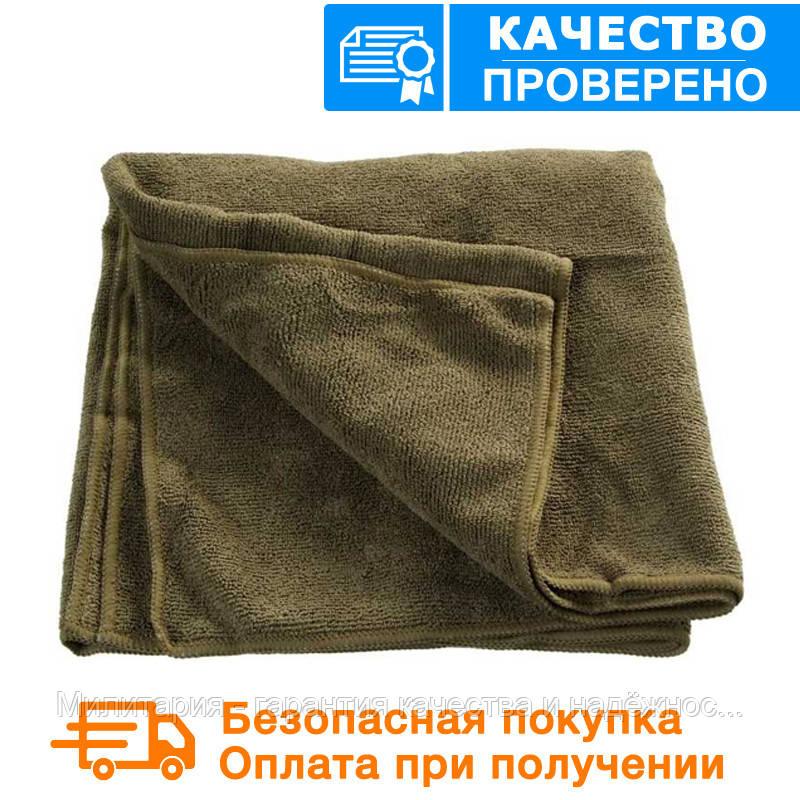 Армейское (военное) полотенце Mil tec Sturm (100*50 cm) Microfibre Olive (16011101)