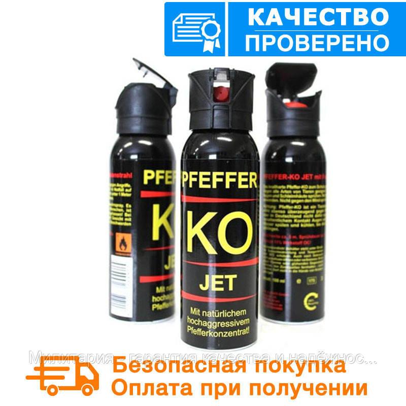 Газовый слезоточивый баллончик для самообороны Mil-Tec PFEFFER KО-JET 100 мл. (струйный) 16224100