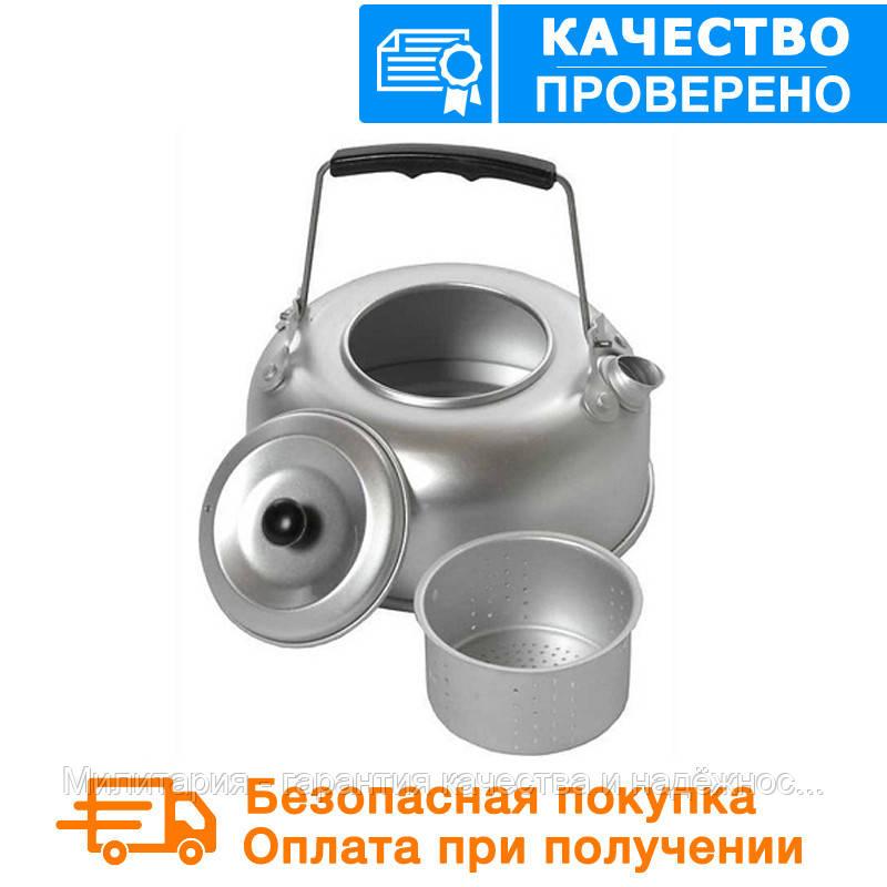 Походный алюминиевый чайник  Sturm Mil-tec +ситечко 1Qt(0,95л)(14695000)
