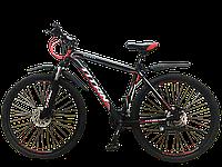 "Горный велосипед TITAN Galaxy 29"" (Black-Red-White), фото 1"
