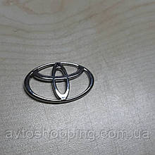 Значок эмблема на капот, багажник Тойота Toyota 87*62 мм
