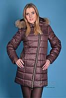 Куртка зимняя с мехом женская Х-Наоми