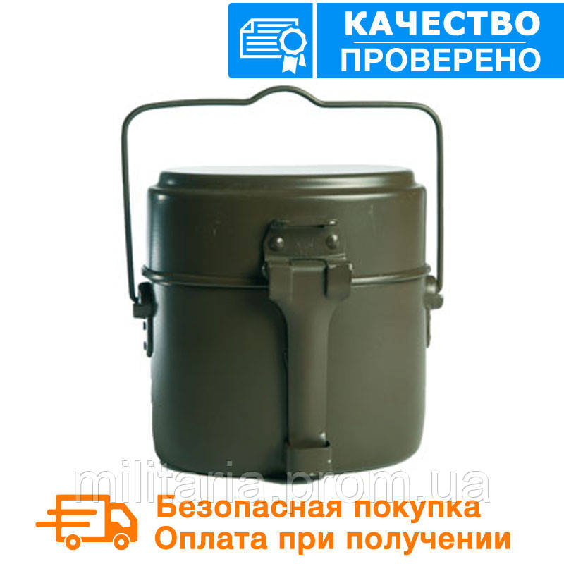 Армейский котелок Бундесвер MIL-TEC Olive (14664000)