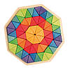 """Мозаика деревянная объемная """"Октагон"""", 72 треугольника Grimm's (43280)"""